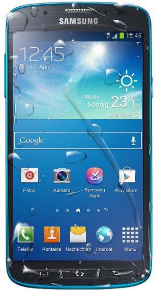 Galaxy S4 - IP67 Rating